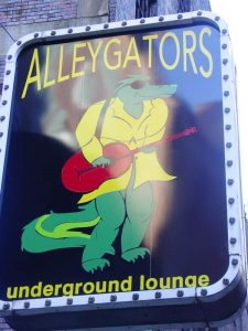 Alleygators Underground Lounge in Printer's Alley