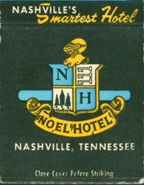 Nashville Noel Hotel Matches